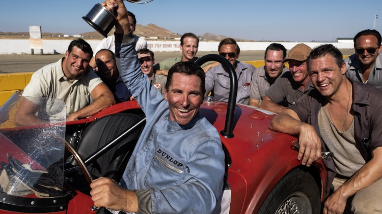 """Our critics review """"Ford v Ferrari,"""" starring Matt Damon as a British race car driver and Christian Bale as his car designer, and together they build a historic vehicle for Ford Motor…"""