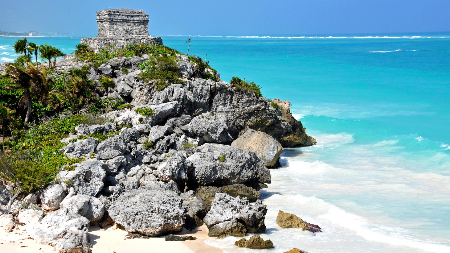 Temple of the Winds in Tulum, Mexico.