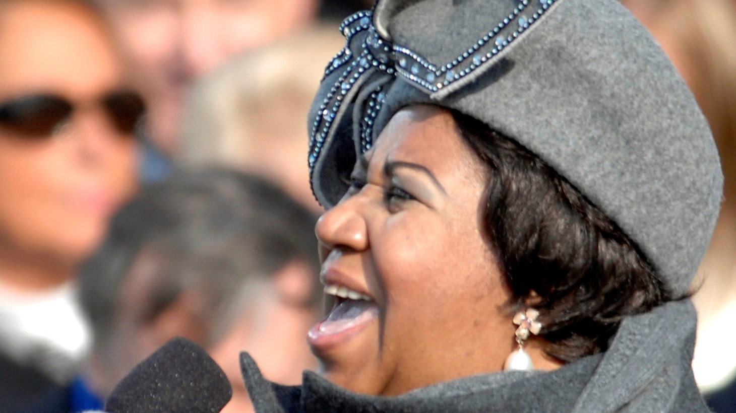"""Aretha Franklin recorded her album """"Amazing Grace"""" live at the New Temple Missionary Baptist Church in South LA in 1972. She was already a big star when she recorded it. But it became one of her most successful albums."""