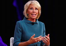 As White House rolls out gun proposals, where does Betsy DeVos stand?