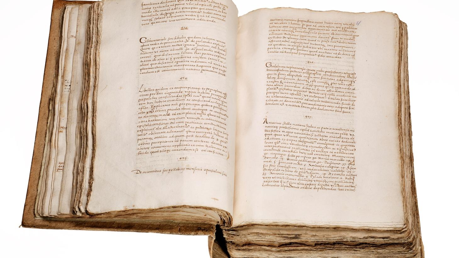 Hernando Colón's lost library catalog.
