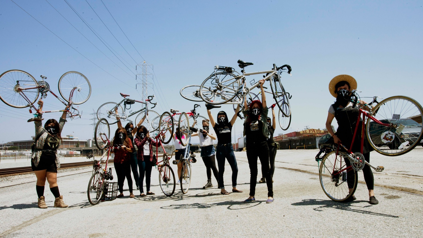In East LA, young women of color have formed a cycling group called Ovarian Psycos. Many of them are trying to recover from trauma and abuse. The collective has become a safe space for them to support each other. But they've been criticized for being too aggressive and even violent.