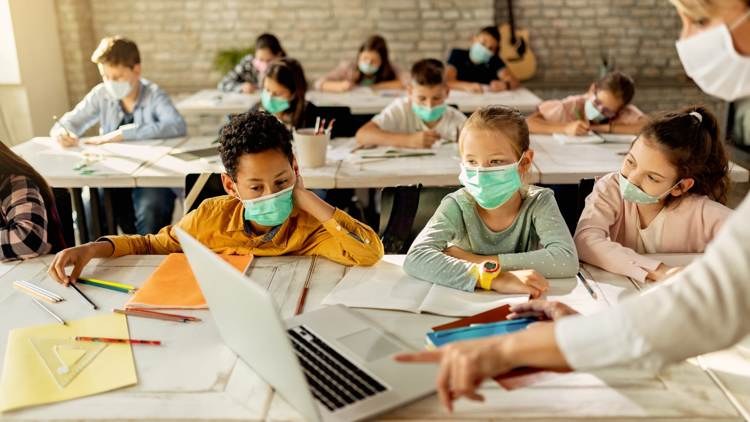 """""""While our kids are being quarantined away from their friends for their own safety, kids are suffering. And so we are looking forward to kids going back safely with the recommendation of primary care physicians and pediatricians and masking up, so that kids' mental health needs can be served,"""" says clinical psychologist Alduan Tartt."""