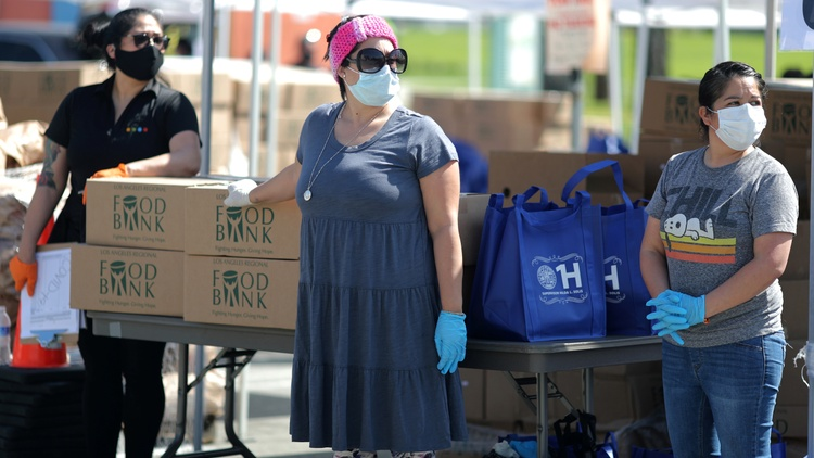 LA County has reported more than 600 deaths because of the novel coronavirus. That's about half the deaths reported in all of California.