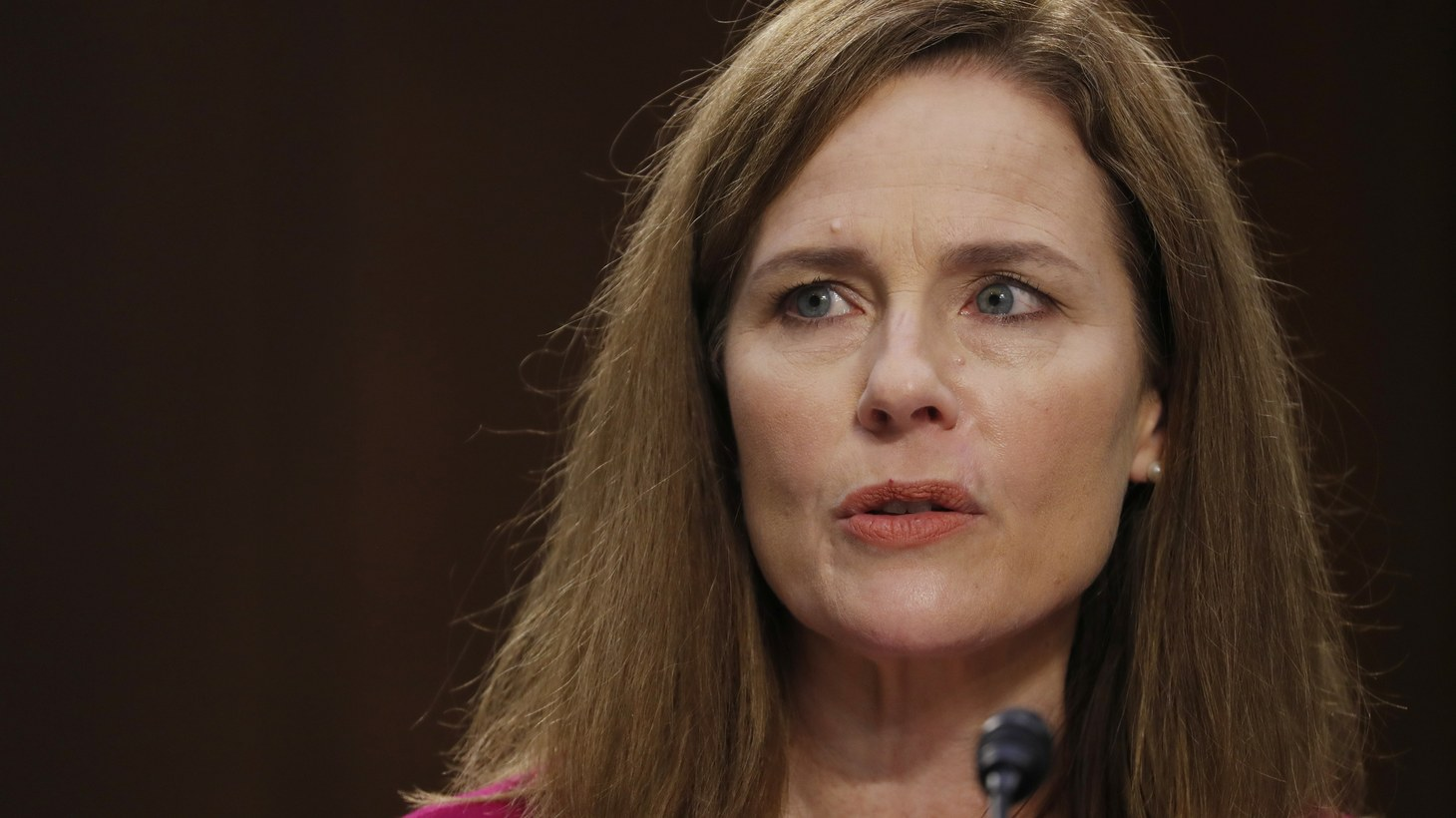 U.S. Supreme Court nominee Amy Coney Barrett attends a confirmation hearing before the Senate Judiciary Committee on Capitol Hill in Washington, D.C., U.S., October 12, 2020.