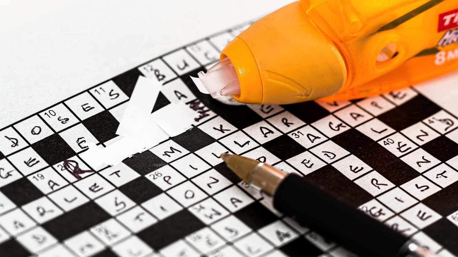 "The history of crossword puzzles is the subject of a book called ""Thinking Inside The Box."""