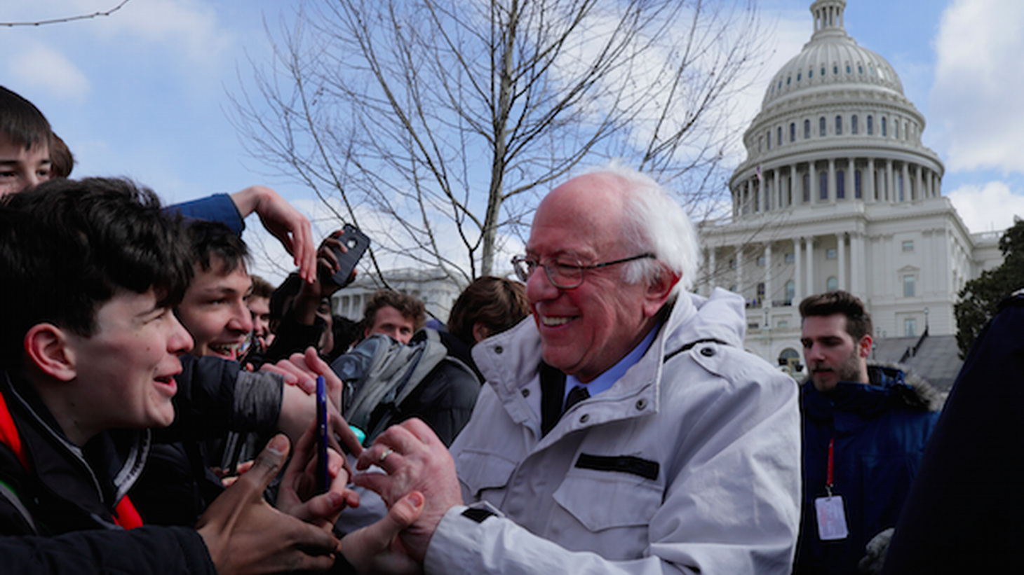 Senator Bernie Sanders has released hundreds of video clips, interviews and Facebook Live events in the last year. Millions of people tune into his talks about single payer health care, the depravity of the Trump team and corporate media.