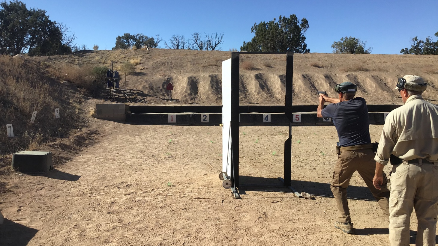 Gunsite Academy in Paulden, Ariz. is one of two civilian tactical training camps Rachel Monroe attended for her piece in WIRED.