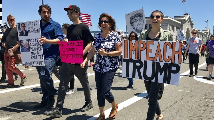 We analyze today's public hearings of the impeachment inquiry into President Trump.