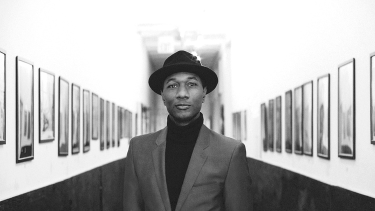 "Musician Aloe Blacc is known for his 2010 hit song "" I Need a Dollar "" and then the anthem "" Wake Me Up "" with the late Swedish DJ Avicii."