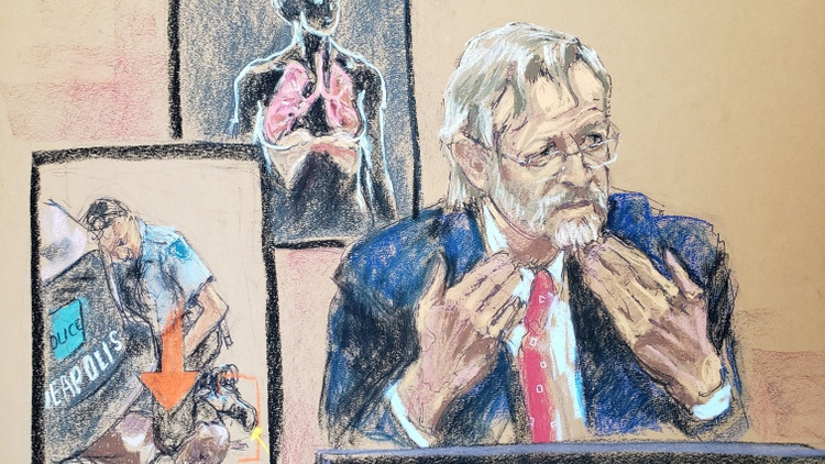 """Pulmonologist Dr. Martin Tobin testified this morning in the trial against former Minneapolis police officer Dereck Chauvin, the man accused of killing George Floyd. He said, """"Mr."""