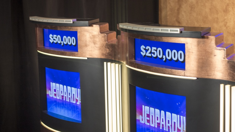 """""""Jeopardy!,"""" the long-running TV quiz show that rarely generates buzz, has been in the spotlight a lot more than usual lately."""