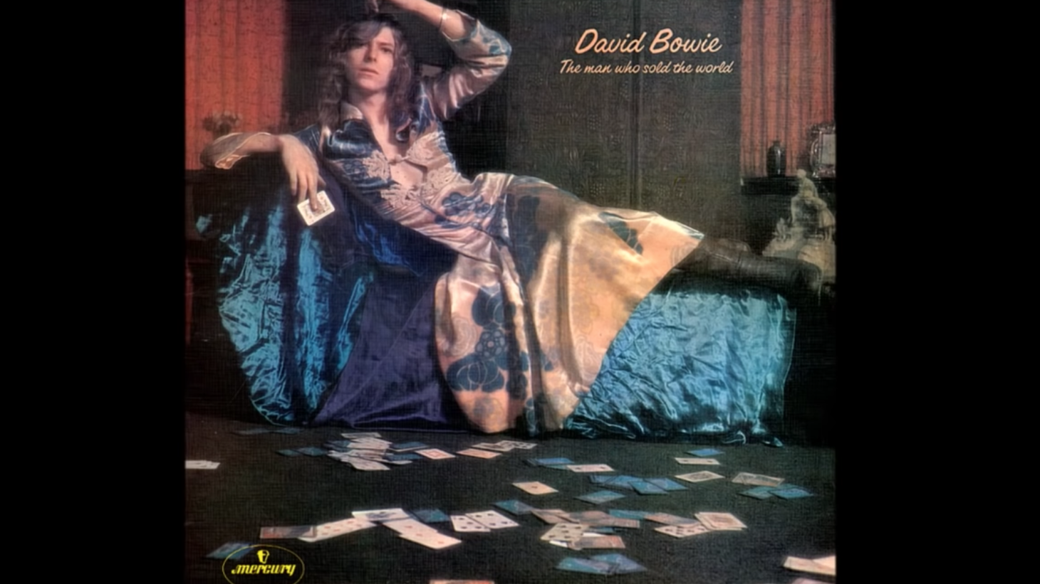 """When David Bowie's """"The Man Who Sold the World"""" album came out in 1970, the cover image stirred up controversy around Bowie's gender and sexuality, which lasted his entire career."""