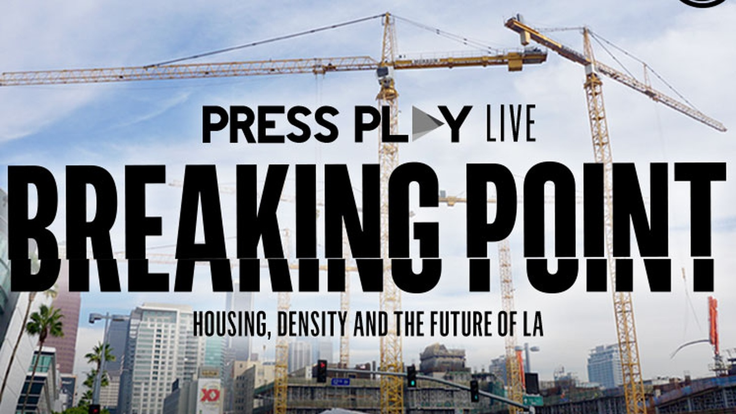 Angelenos will vote next week on Measure S, which restricts development in the city for two years. It's stirred up a heated debate: Should LA build higher, denser developments near public transit, or stay as a network of neighborhoods with single family homes and small apartment buildings?   Press Play hosts a special broadcast live from Hollywood's Barnsdall Gallery Theatre, exploring how the housing crisis in LA has caused an identity crisis for Angelenos.