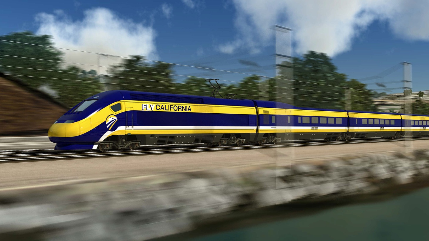 "California's bullet train hits another snag, Hollywood NIMBYs, the search for the ""gay gene,"" a Led Zeppelin lawsuit, and our weekly film segment."