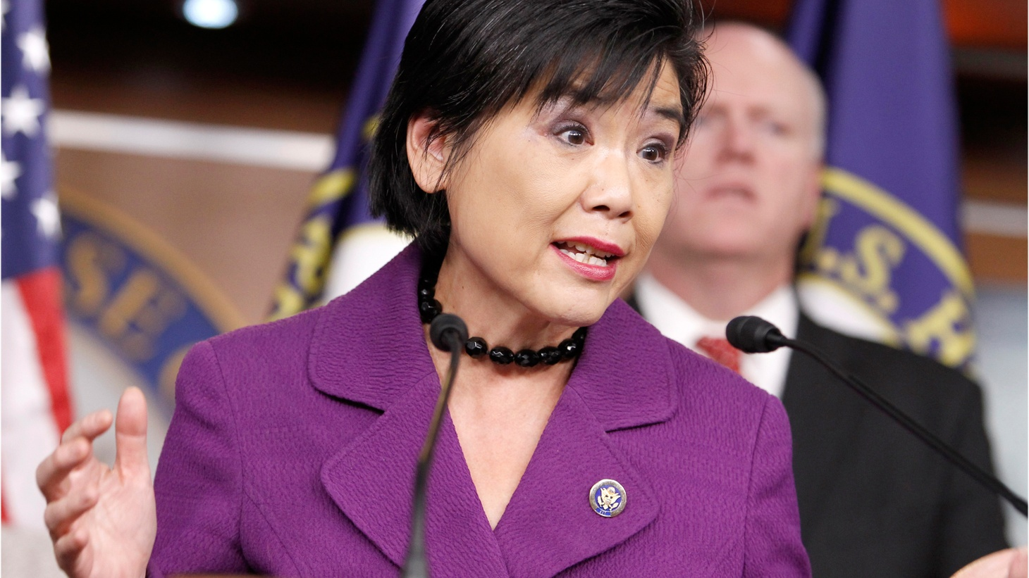 Local congresswoman Judy Chu says she's receiving panicked calls from her constituents and no answers from immigration officials about deportations. We also talk about the latest turmoil at the White House.