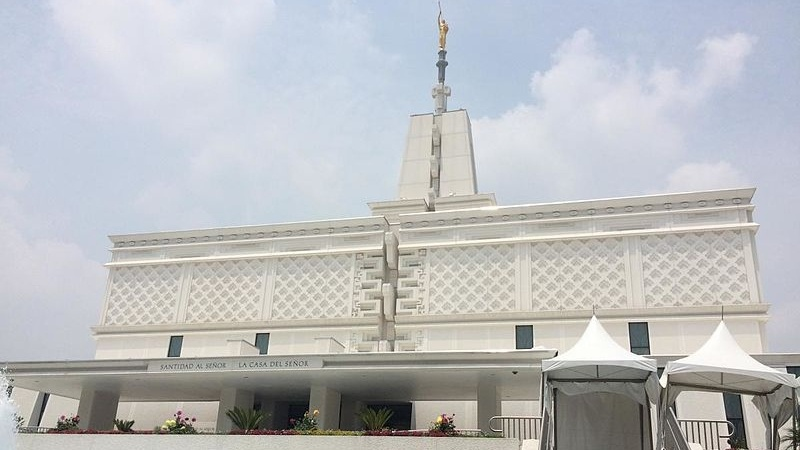 Temple of The Church of Jesus Christ of Latter-day Saints in Mexico City.
