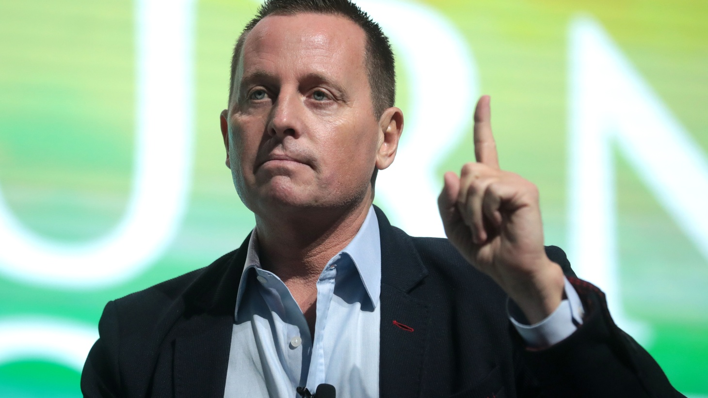 U.S. Ambassador to Germany Richard Grenell speaking at the 2019 Student Action Summit hosted by Turning Point USA at the Palm Beach County Convention Center in West Palm Beach, Florida.