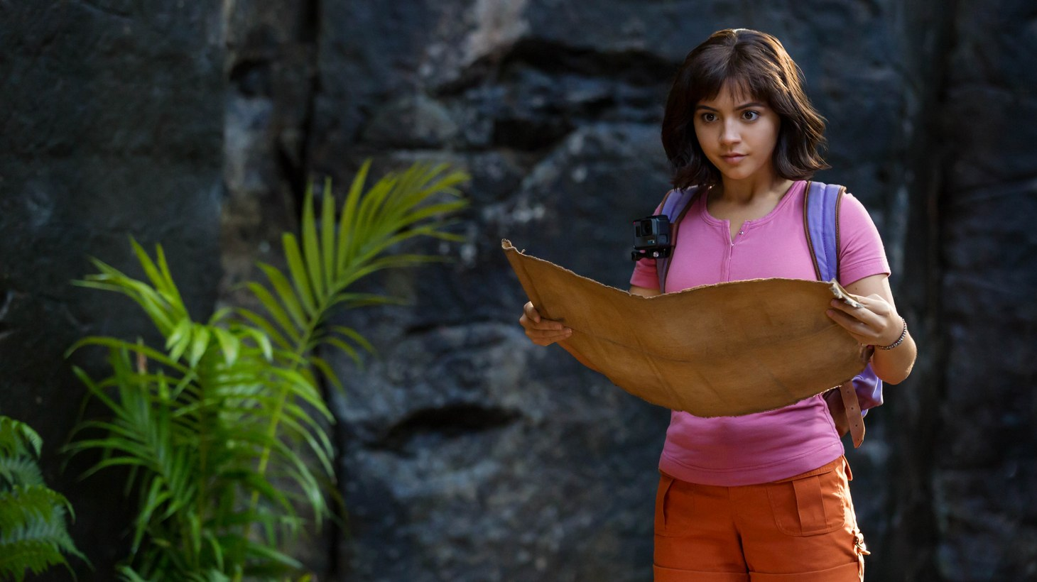 "Isabela Moner stars as ""Dora"" in ""Dora and the Lost City of Gold."""