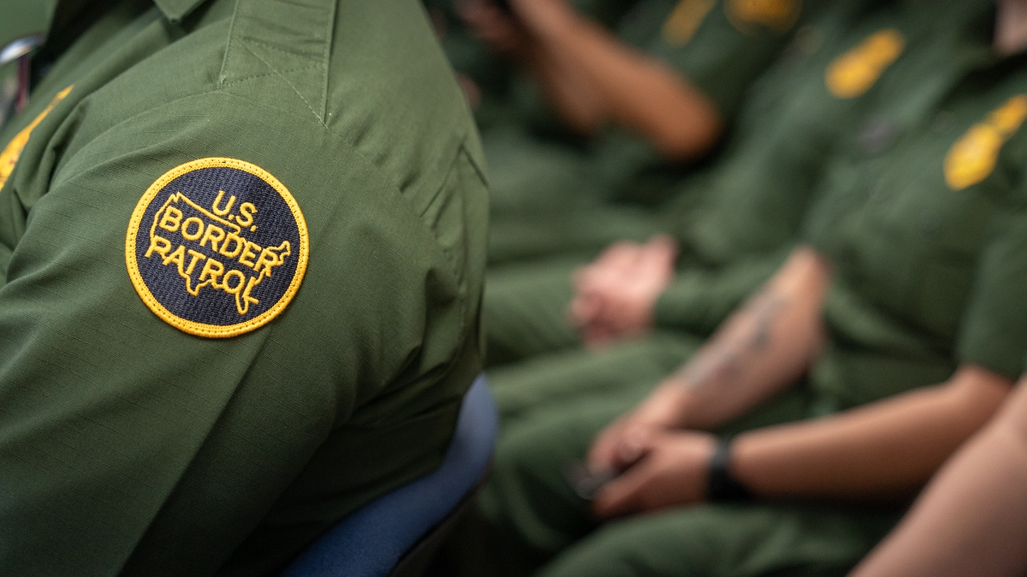 President Donald J. Trump participates in a roundtable discussion on immigration and border security at the U.S. Border Patrol Calexico Station Friday, April 5, 2019, in Calexico, Calif. (Official White House).