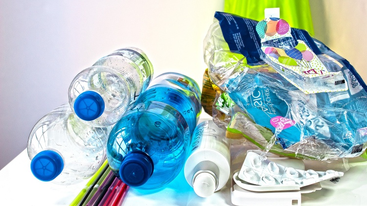 Some 40% percent of recycling centers in California have closed in the last five years, while there's more plastic production, and much of it is for one-time use.