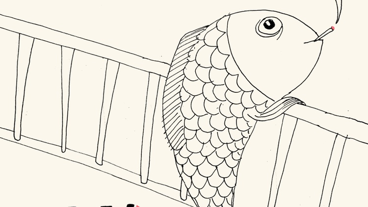 """A clone of Adolf Hitler, an unhappy angel, and and a dad who shapeshifts into a rabbit are all characters in Israeli writer Etgar Keret's new short story collection called """"Fly…"""