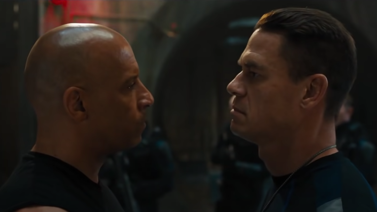 The latest Fast & Furious film stars Vin Diesel and John Cena, who plays Diesel's brother.
