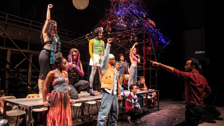 """Nearly 25 years ago, """"Rent"""" took Broadway by storm. The show focuses on struggling artists in the East Village during the late 1990s, dealing with the AIDS crisis."""