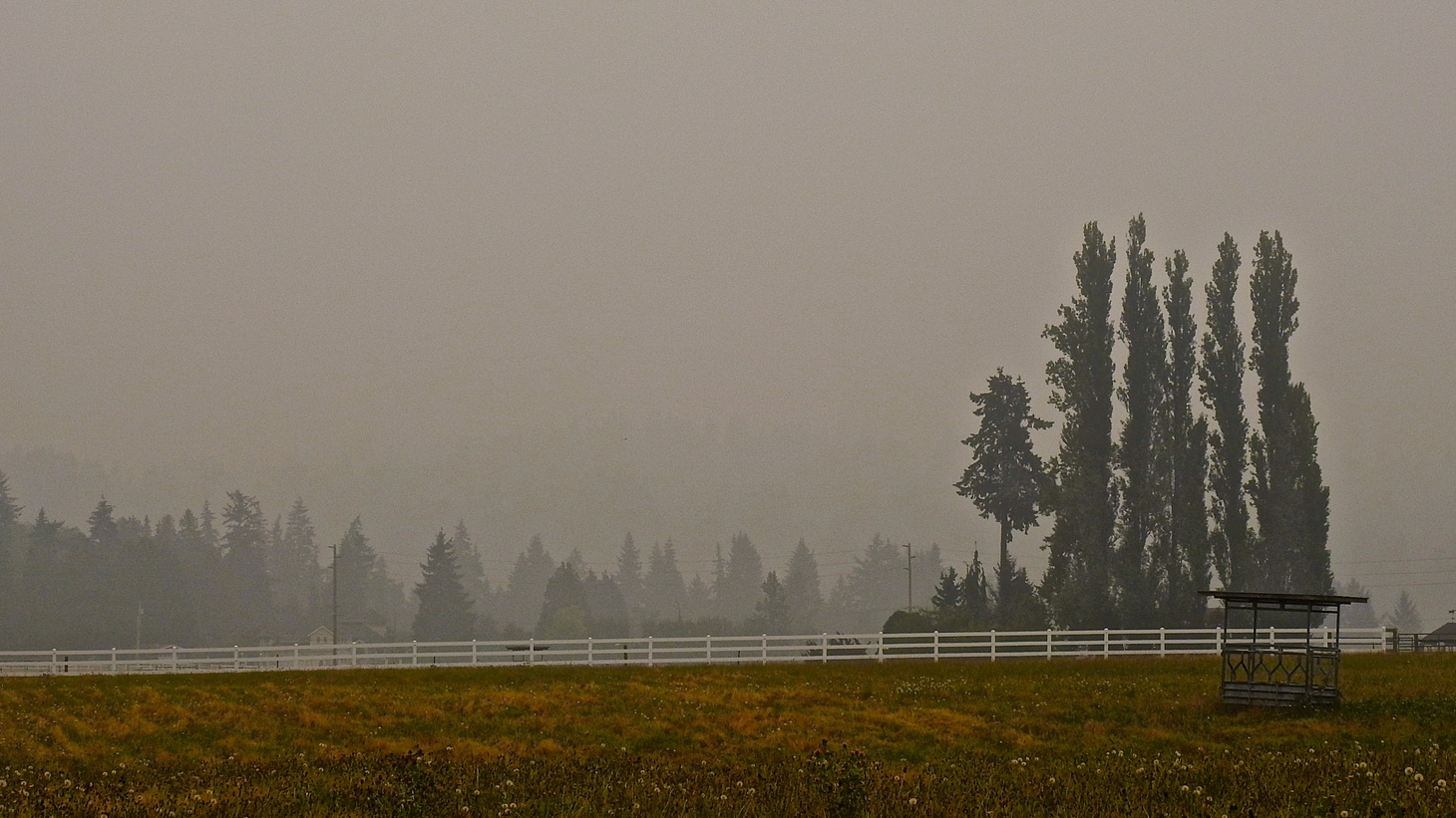 The west coast has been under a blanket of smoke from wildfires. Photo taken on September 14, 2020.