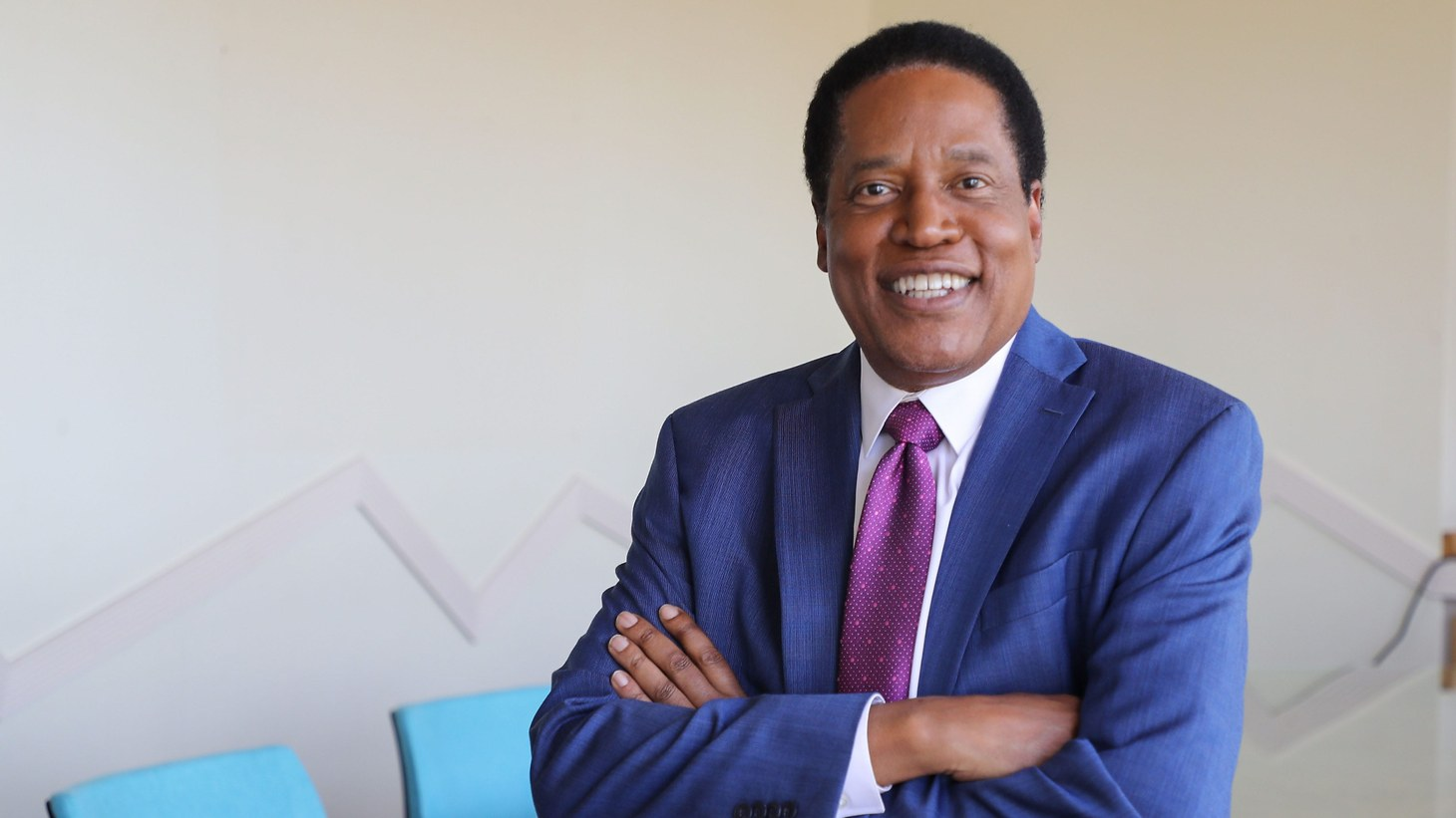 Conservative talk show host Larry Elder is running for California governor in the recall election.