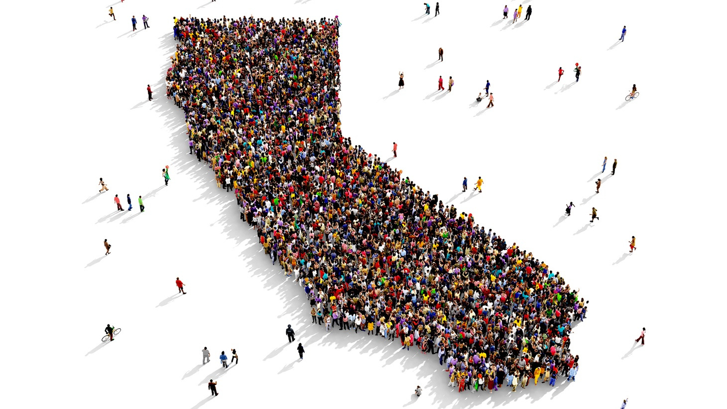 The latest Census count shows that California's population didn't grow enough to maintain or add to its current 53 seats in the U.S. House of Representatives.