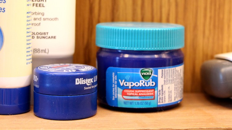 Vicks VapoRub is supposed to help break up congestion and relieve coughing. Studies show it can help children sleep.