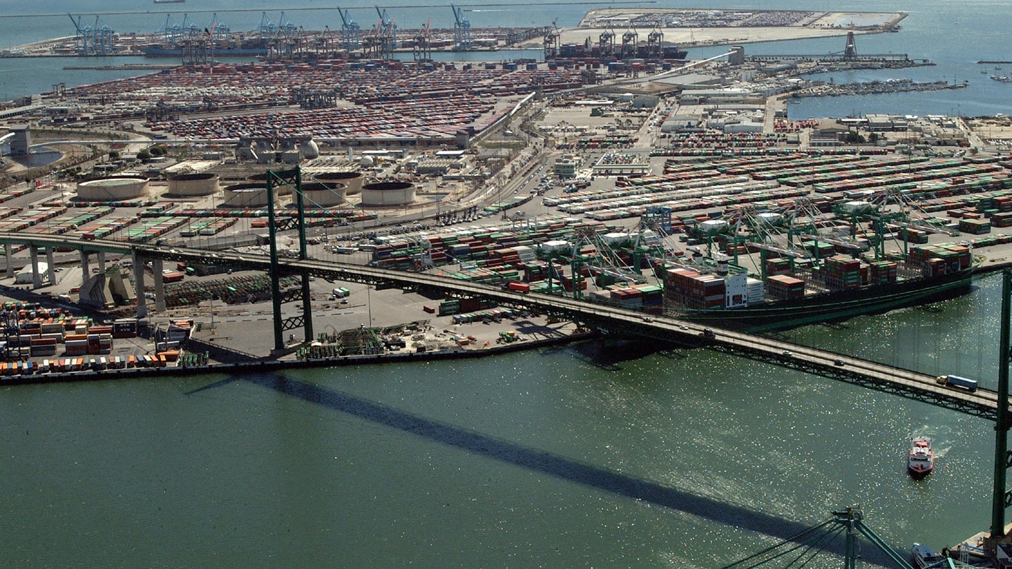 A decade ago, officials spent millions to convert Chinese ships at the Port of L.A. from diesel to electric power. But then the ships stopped using the port. What can be done now to fix new concerns about air pollution in and around the port?