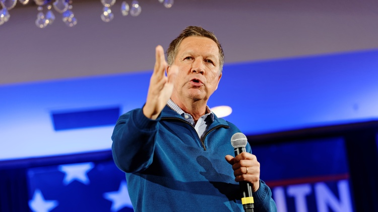 After a blistering defeat in Iowa, Ohio Gov. John Kasich took second place in the New Hampshire primary yesterday.
