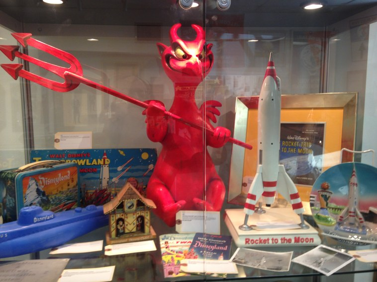 This little devil from Mr. Toad's Wild Ride is Eric J. Lawrence's favorite item at the auction.