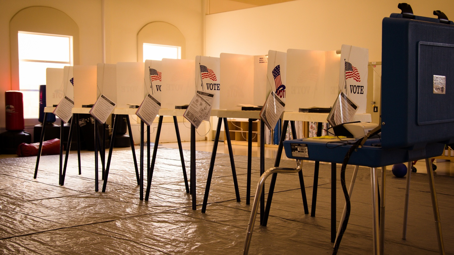 Groups supporting Trump say they plan to send poll watchers to polling places nationwide on election day. The groups say they want to prevent voter fraud, but opponents argue that what they're doing is voter intimidation.