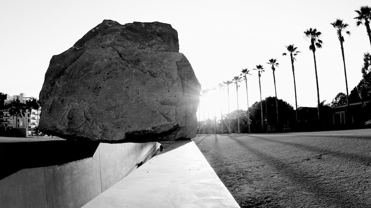 "A new documentary follows the long, slow travels of the 340-ton boulder that eventually became the cornerstone of the ""Levitated Mass"" sculpture at LACMA. We talk to the filmmaker about the journey and the controversy surrounding the work."