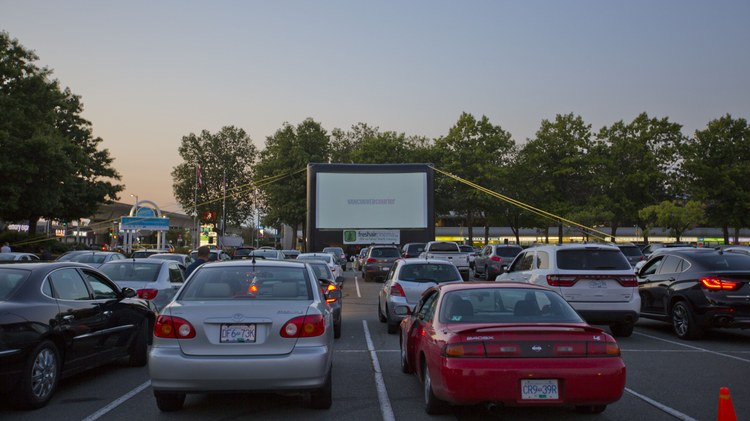 Resurgence of drive-in theaters is one silver lining for film business during pandemic