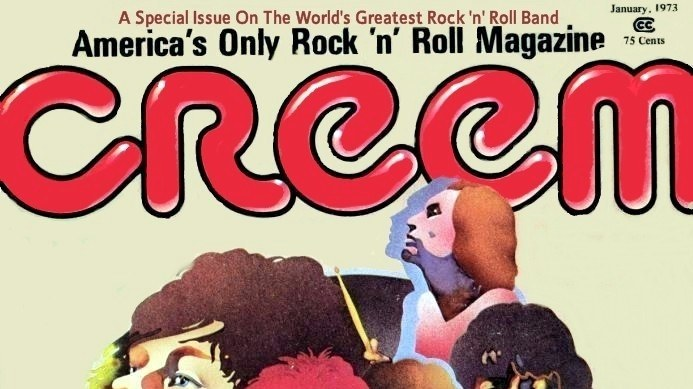 This cover of Creem magazine features the Rolling Stones.