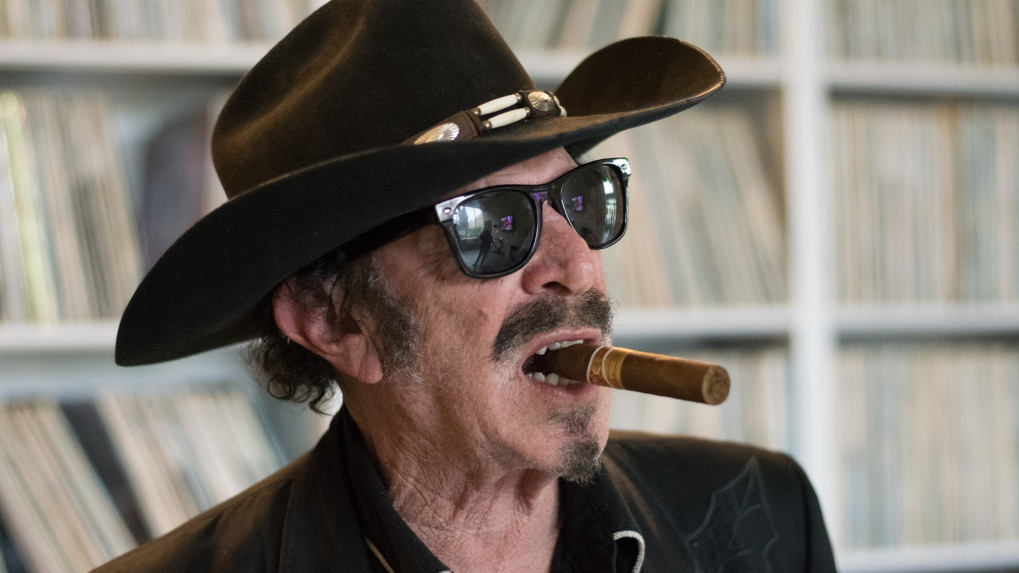 Kinky Friedman at KCRW.