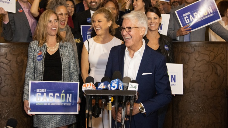George Gascón was sworn in on Monday as LA's new district attorney. He announced big reforms, including no more cash bail for nonviolent crimes. He won't seek the death penalty.