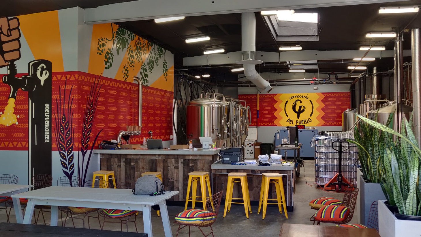 Cervecería Del Pueblo was just about to open its tap room in Pasadena before the pandemic hit.