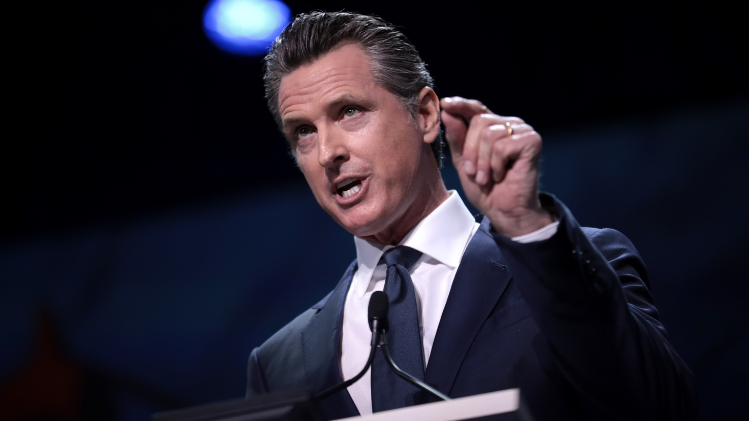 COVID-19 cases are surging in California, and some critics say California Governor Gavin Newsom reopened the economy too quickly. Newsom has since closed businesses like bars, gyms, and restaurant dining rooms again.
