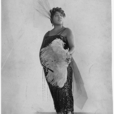 """In 1920, jazz singer Mamie Smith released a record called """"Crazy Blues."""" She was the first Black female singer to record and release a blues song."""