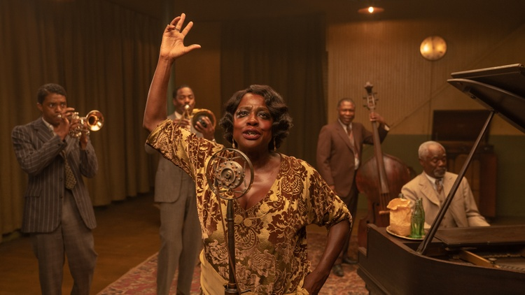 """Critics review """"Ma Rainey's Black Bottom,"""" an adaptation of August Wilson's play of the same name, about the legendary blues singer Ma Rainey, played by Viola Davis; """"Education,"""" the…"""