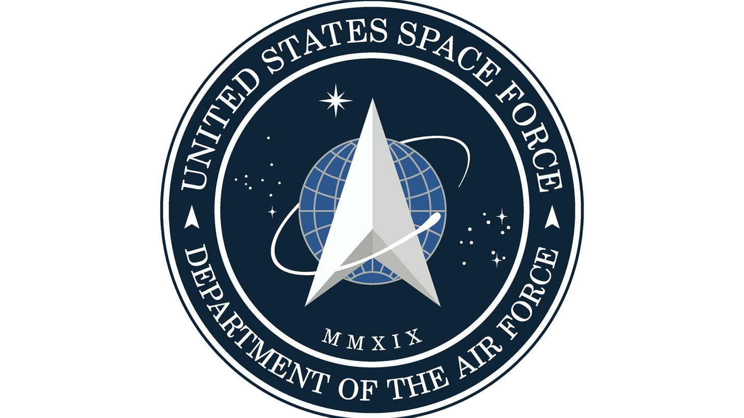 The seal of the United States Space Force, as announced by President Donald Trump, January 24, 2020. Public Domain.
