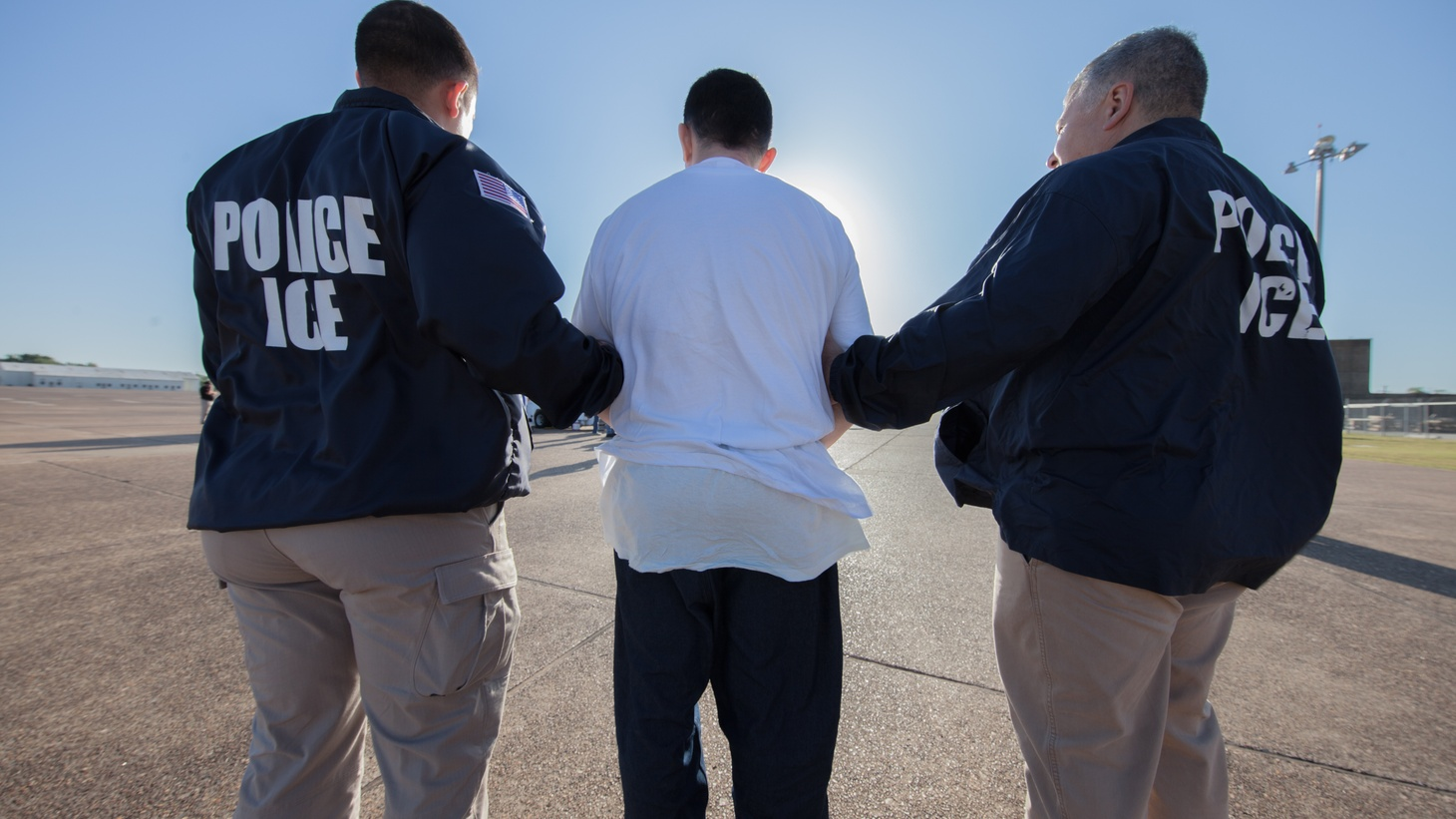 The U.S. Immigration and Customs Enforcement Agency has deported more than 40,000 people since the beginning of the COVID-19 pandemic.