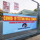 Weekly COVID tests will be mandatory for all LAUSD students and staff despite vax status