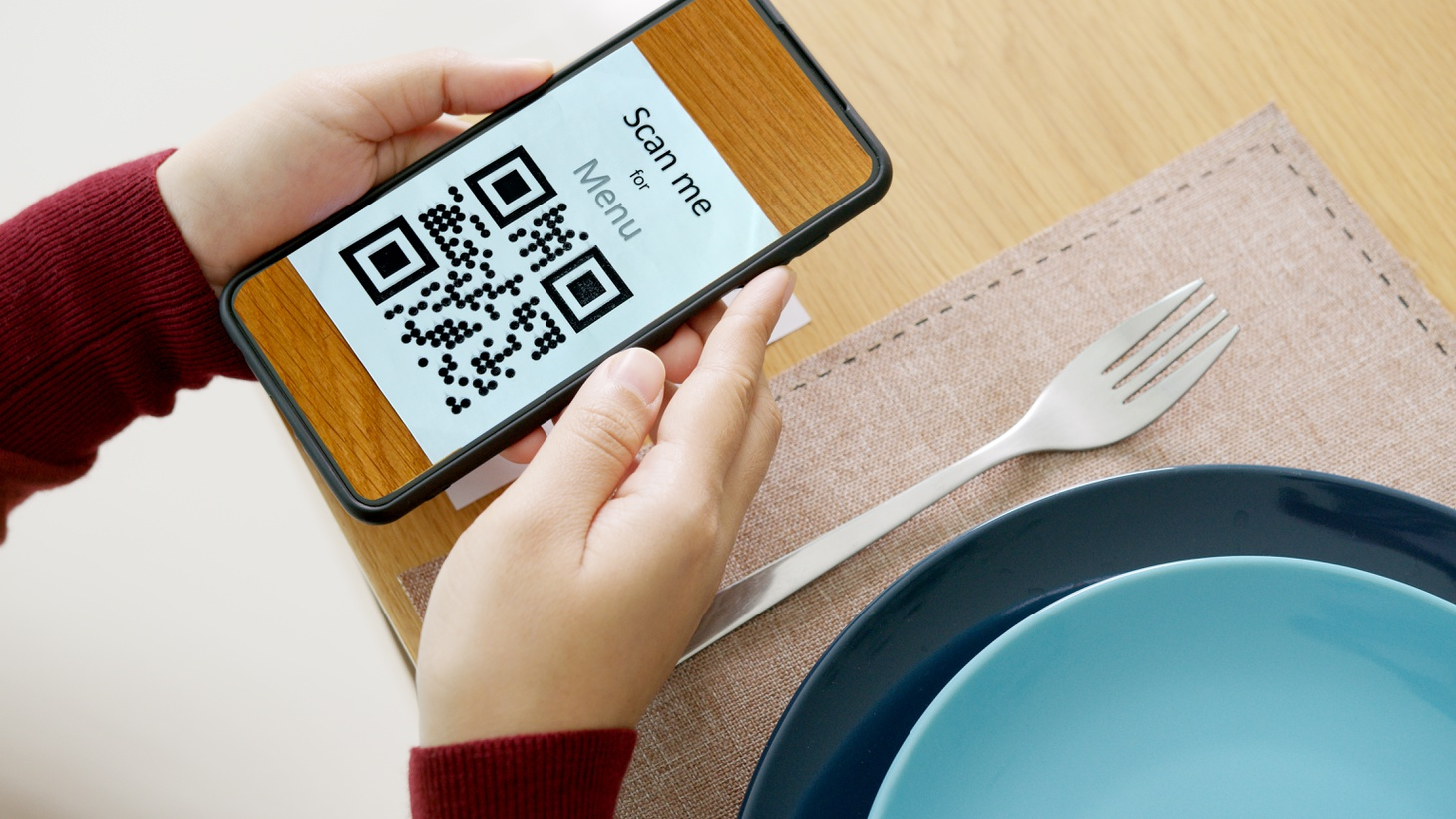QR codes are making pandemic dining easier, but they're also creating new opportunities for businesses to track user data.
