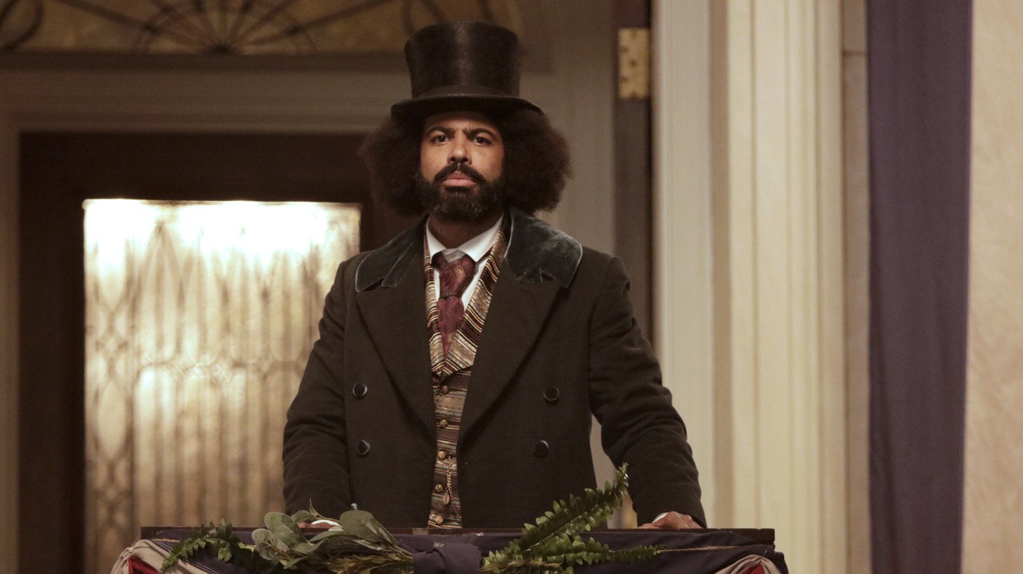 """Daveed Diggs portrays Federick Douglassin Showtime's """"The Good Lord Bird."""""""